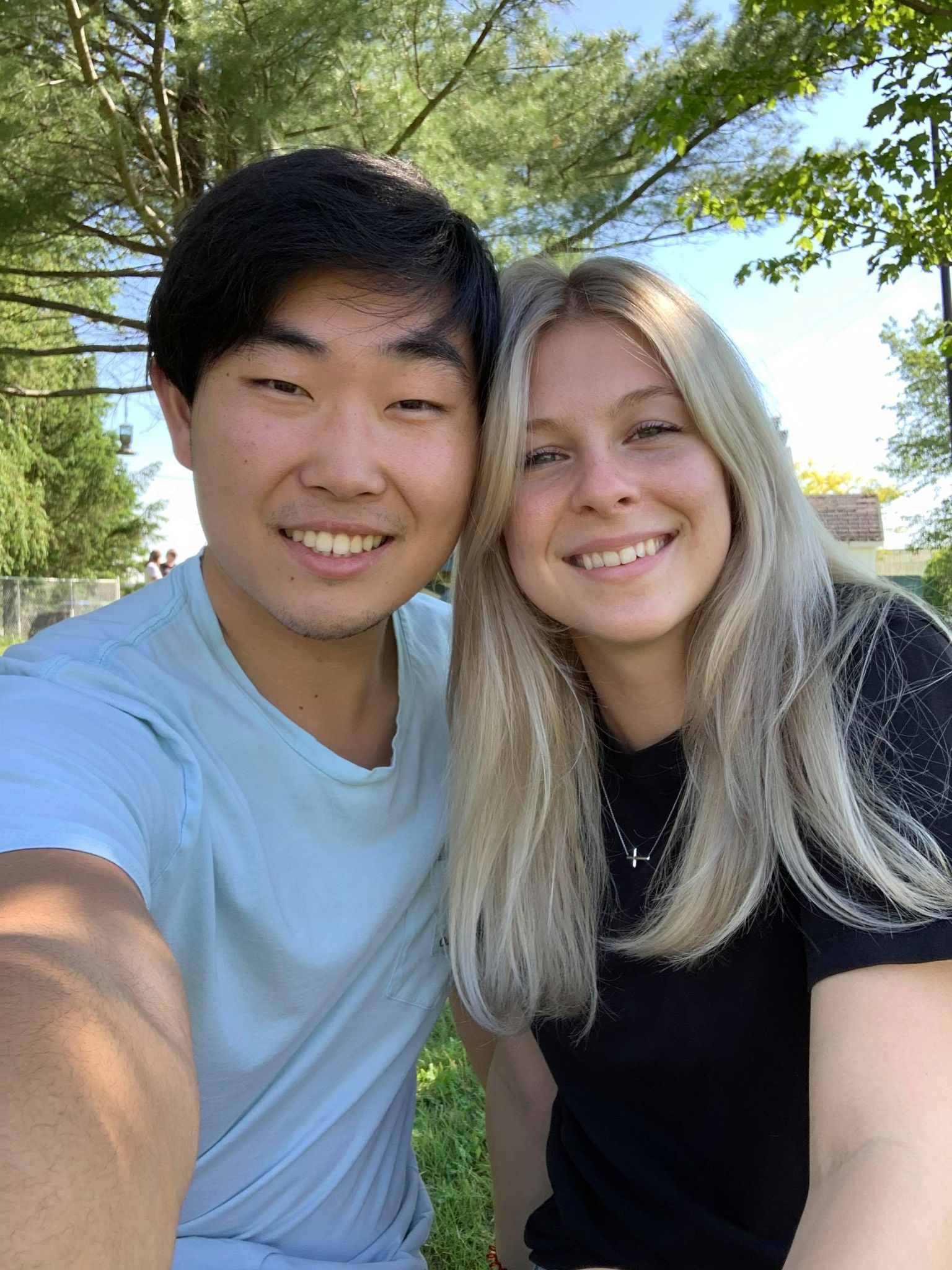 Andrew Lee et Naomie Dusfresne